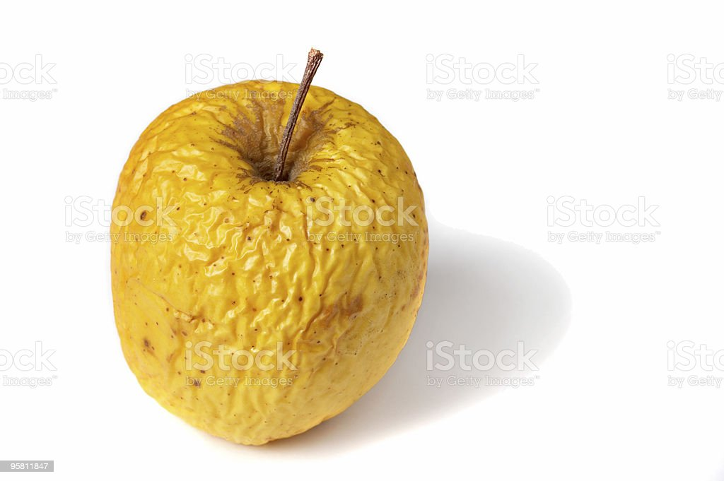 old apple royalty-free stock photo