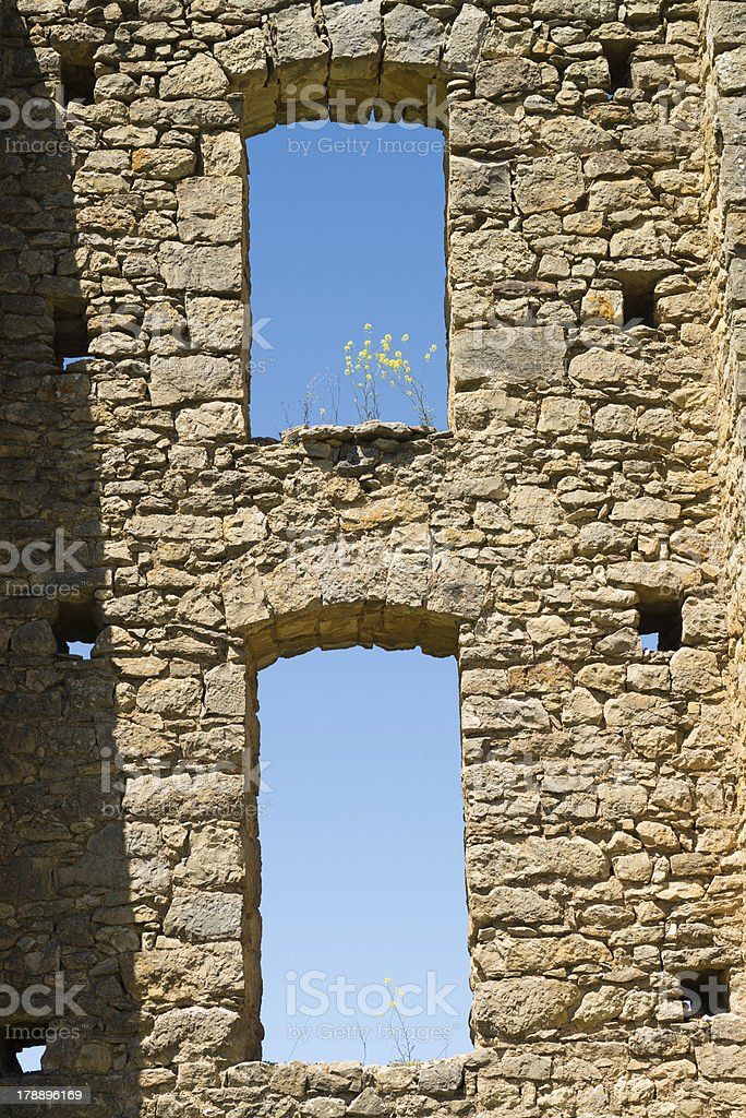 Old architecture detail royalty-free stock photo