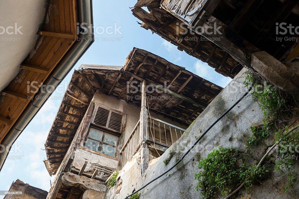 Old architecture in Antakya, Turkey stock photo