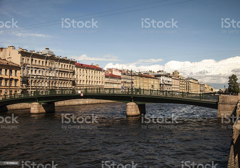 Old architecture of the 19th century royalty-free stock photo