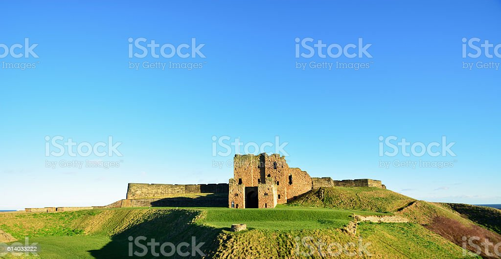 old Architecture,Tynmounth, Newcastle sea side stock photo