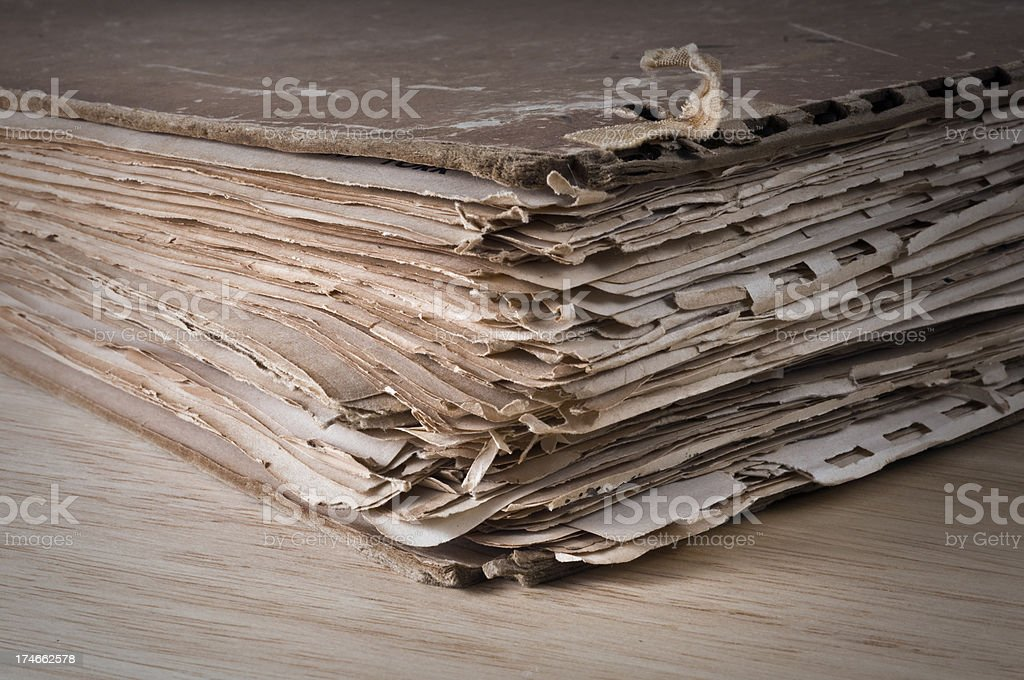 old archive royalty-free stock photo