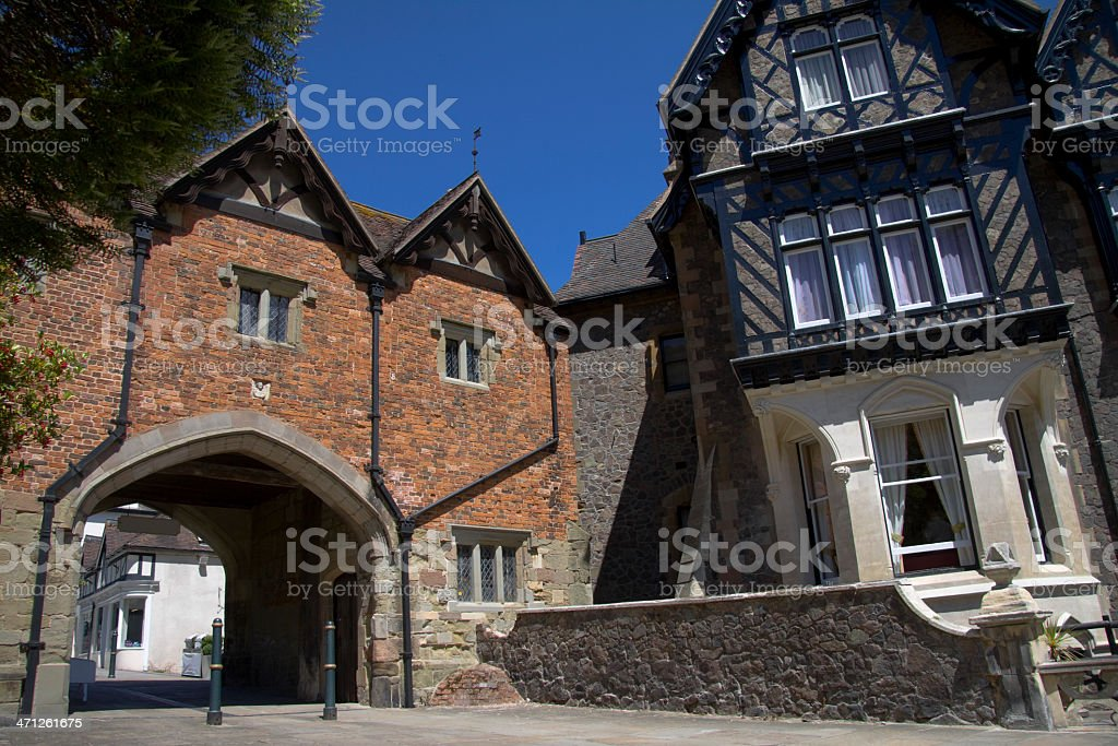 Old Archway stock photo