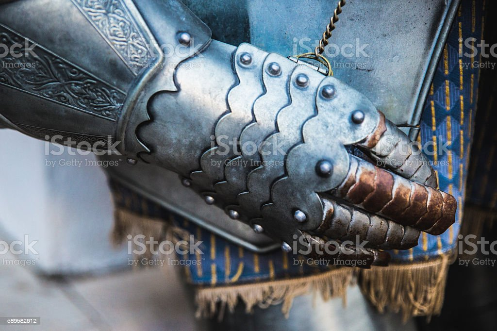 Old armor stock photo