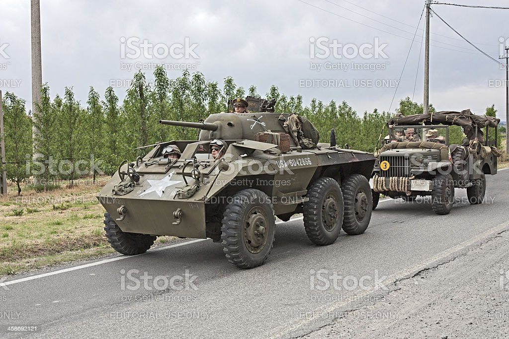 old armored vehicle royalty-free stock photo