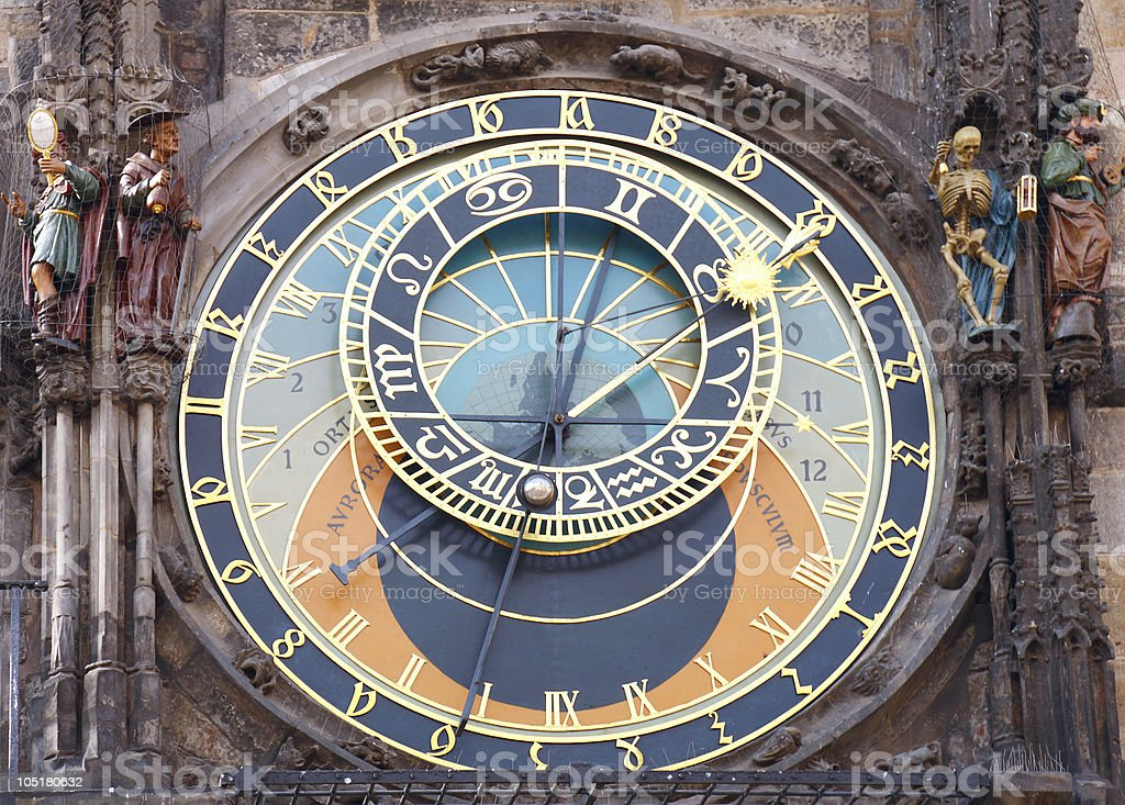 Old Astronomical Clock, Prague royalty-free stock photo