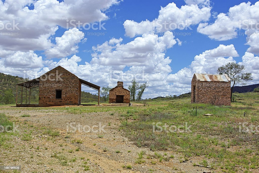 Old australian mining city royalty-free stock photo