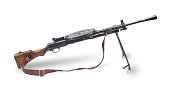 Old automatic rifle