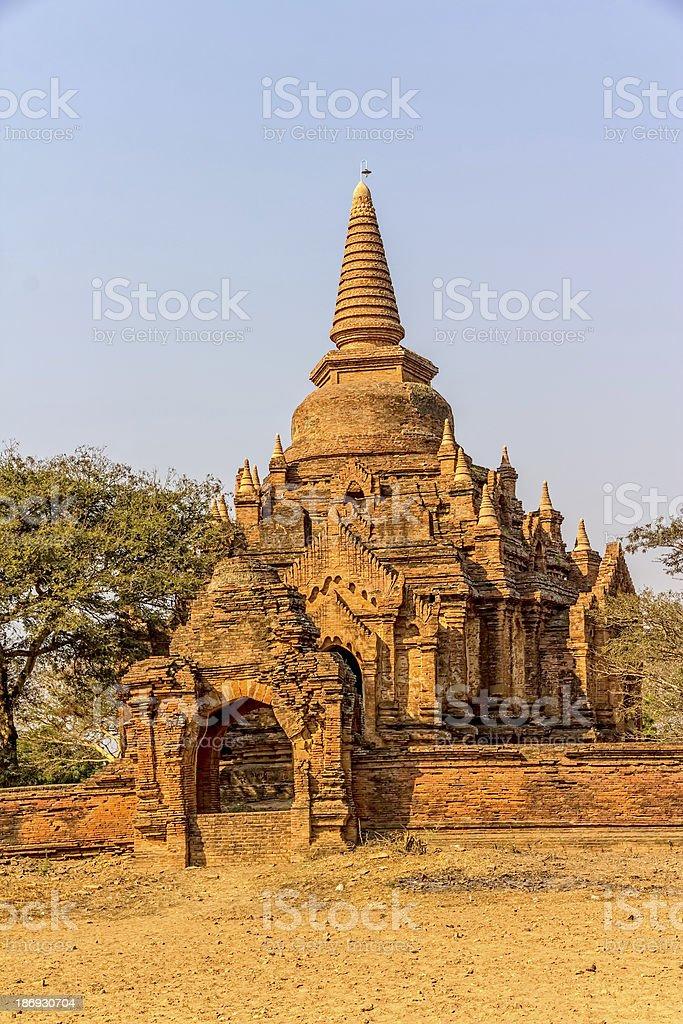 Old Bagan royalty-free stock photo