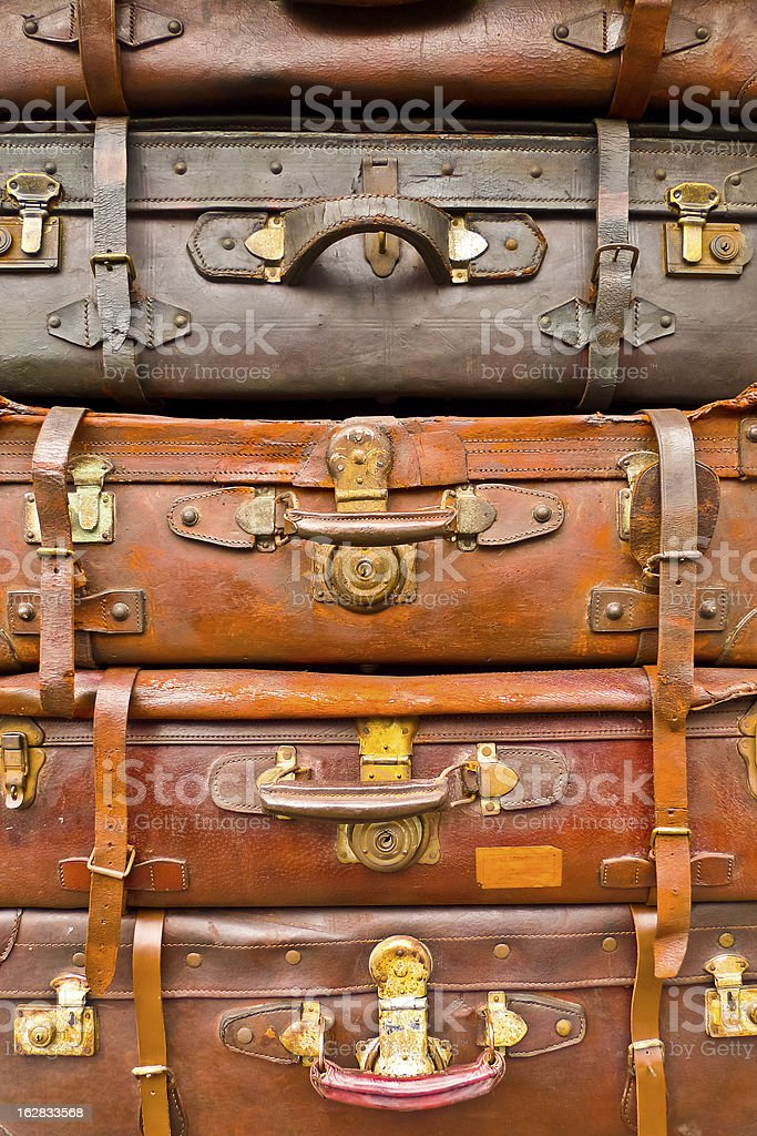 Old bags royalty-free stock photo