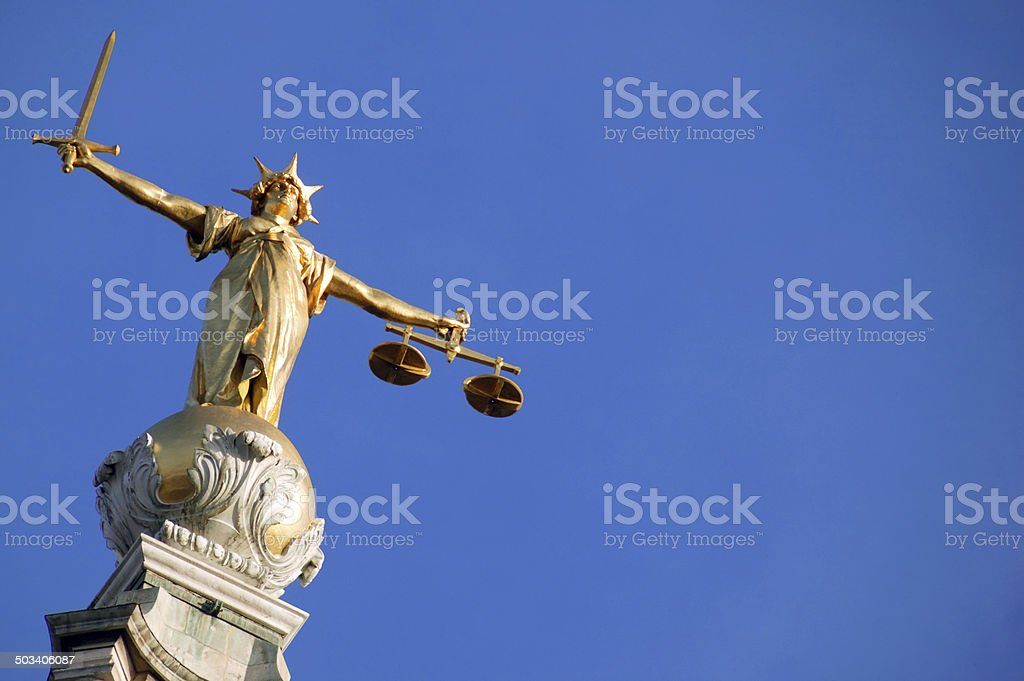Old Bailey stock photo