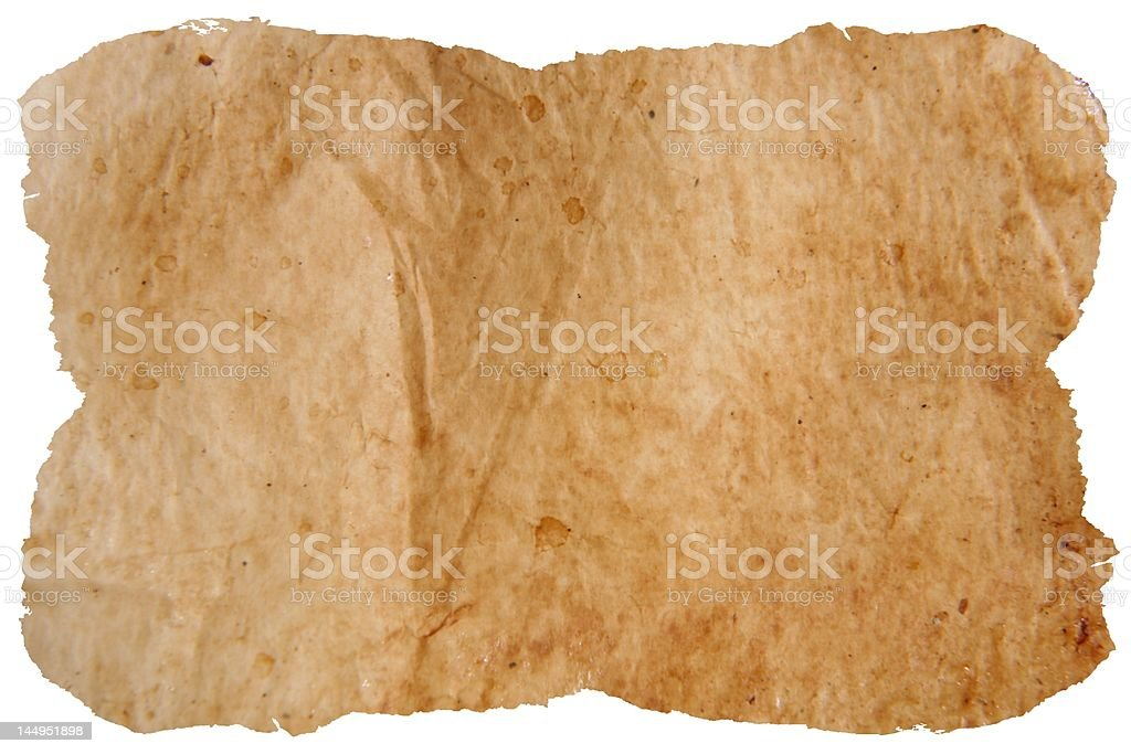old baken paper royalty-free stock photo