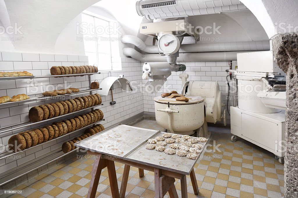 Old bakery stock photo