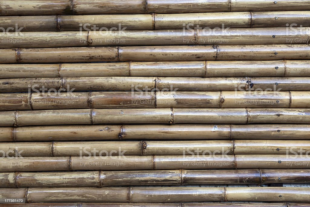 old bamboo background royalty-free stock photo