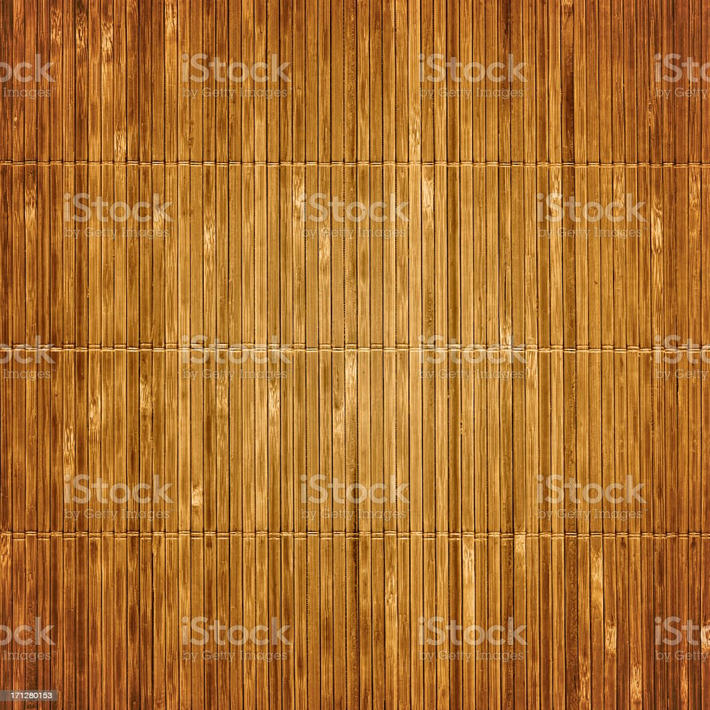Old bamboo mat textured background stock photo