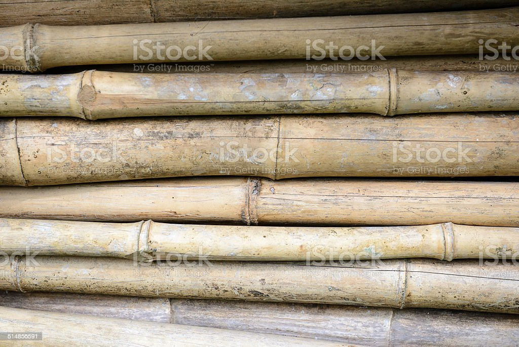 old bamboo texture stock photo