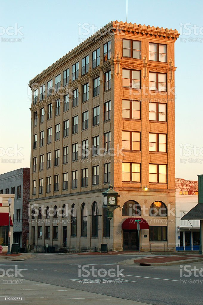 Old Bank Building royalty-free stock photo