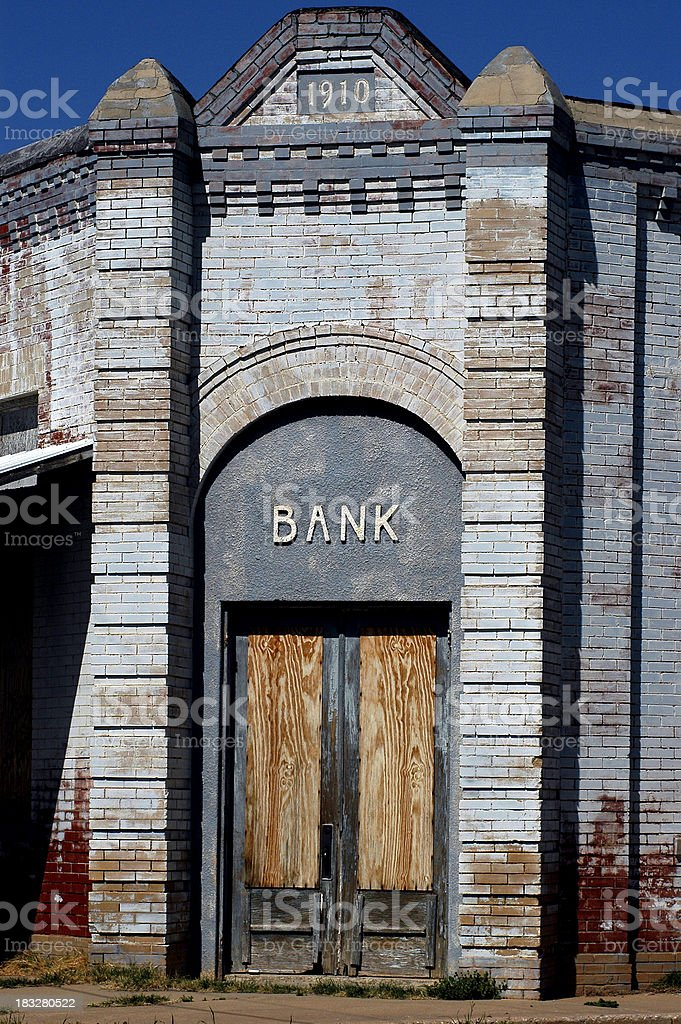 Old Bank royalty-free stock photo