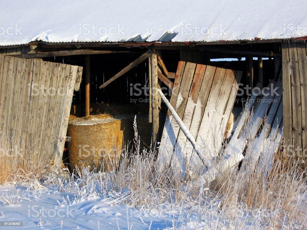 Old barn royalty-free stock photo