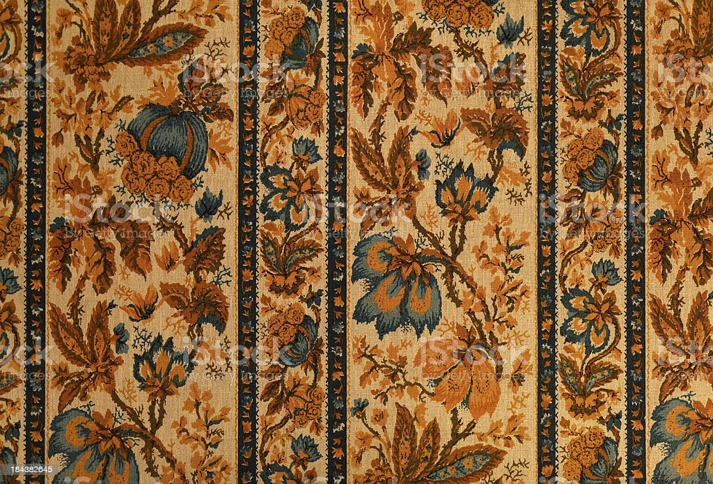 old baroque style textil tapstry royalty-free stock photo