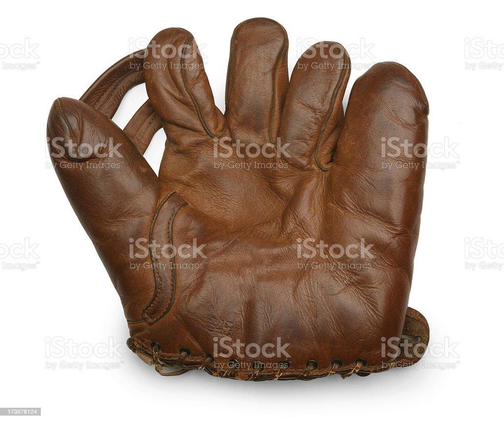 Old Basball Glove royalty-free stock photo