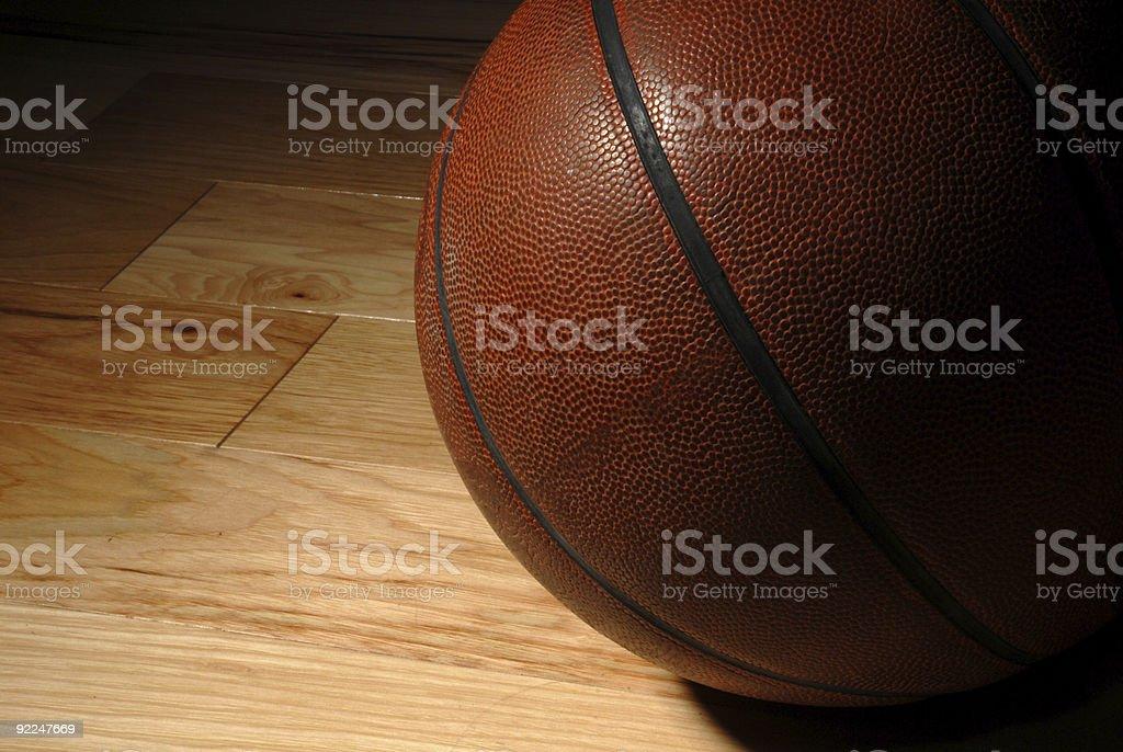 Old Basketball stock photo
