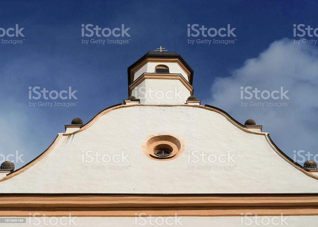 Old Bavarian Church royalty-free stock photo