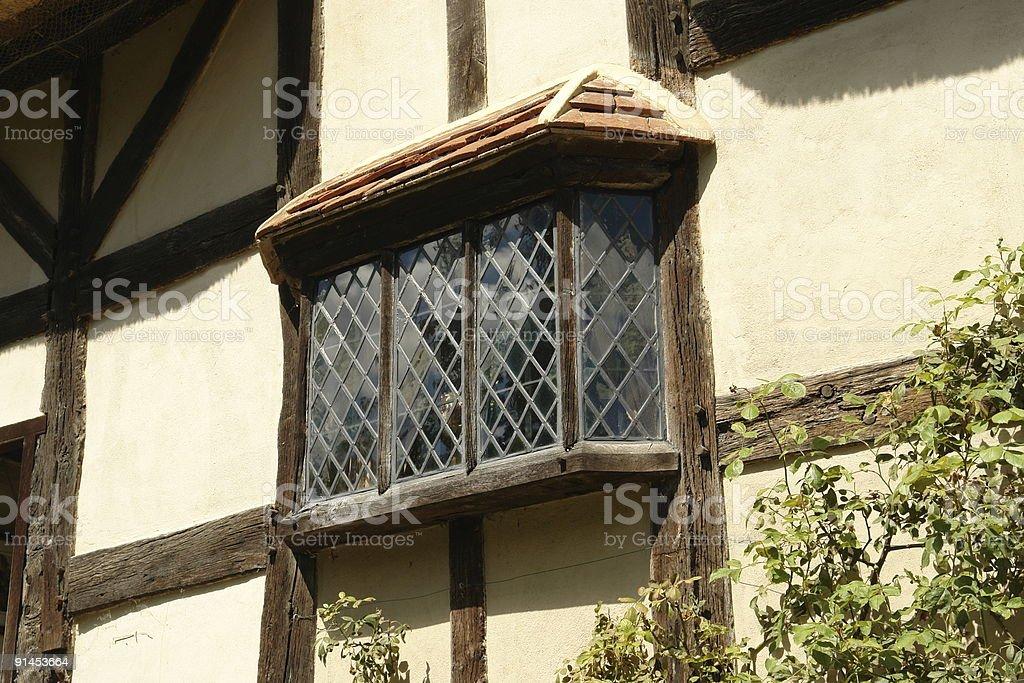 Old Bay Window. stock photo