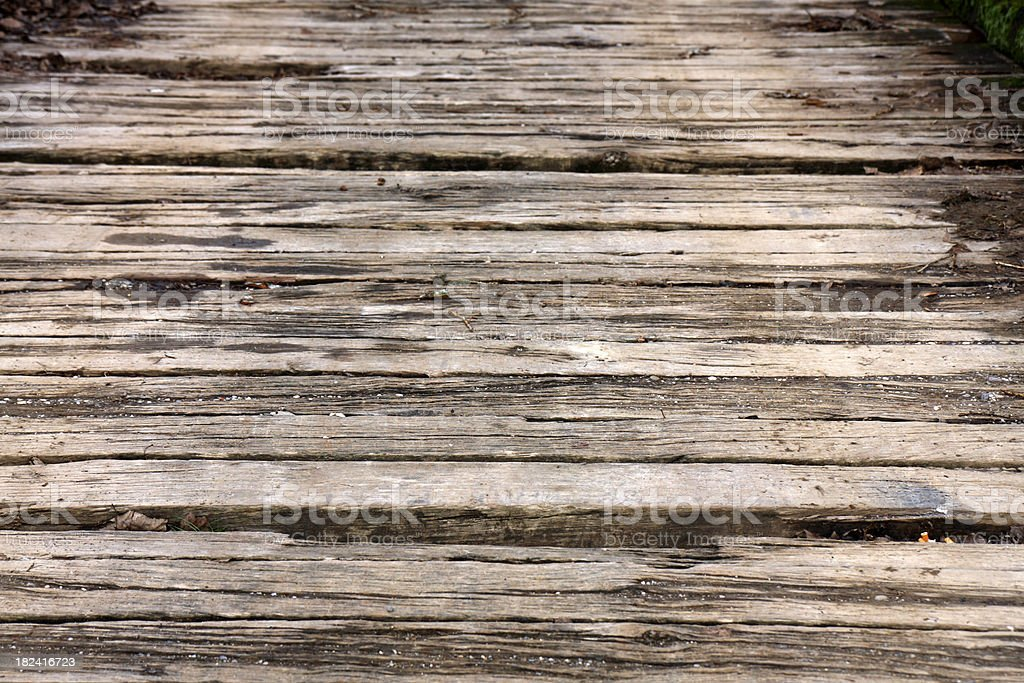 Old beams royalty-free stock photo