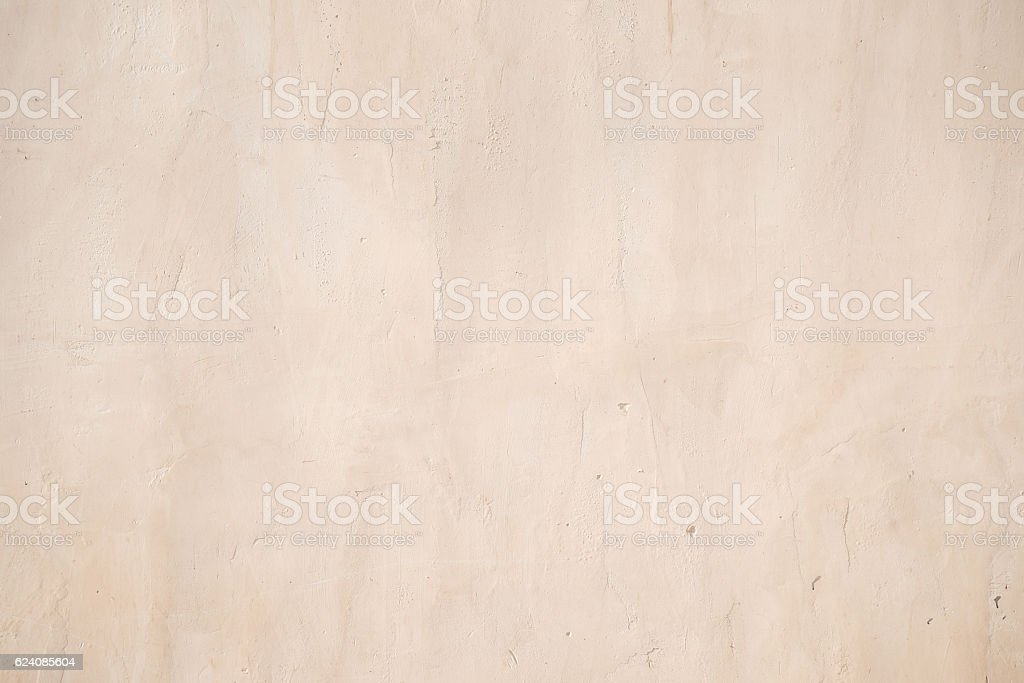 Old beige grunge concrete wall stock photo