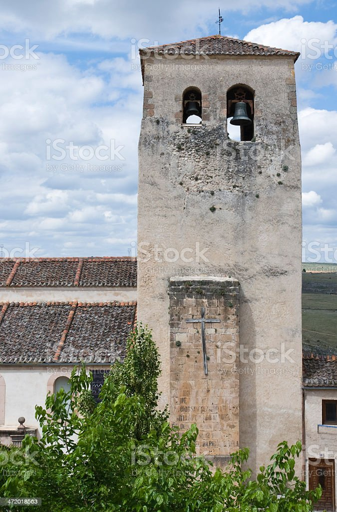 old bell tower stock photo