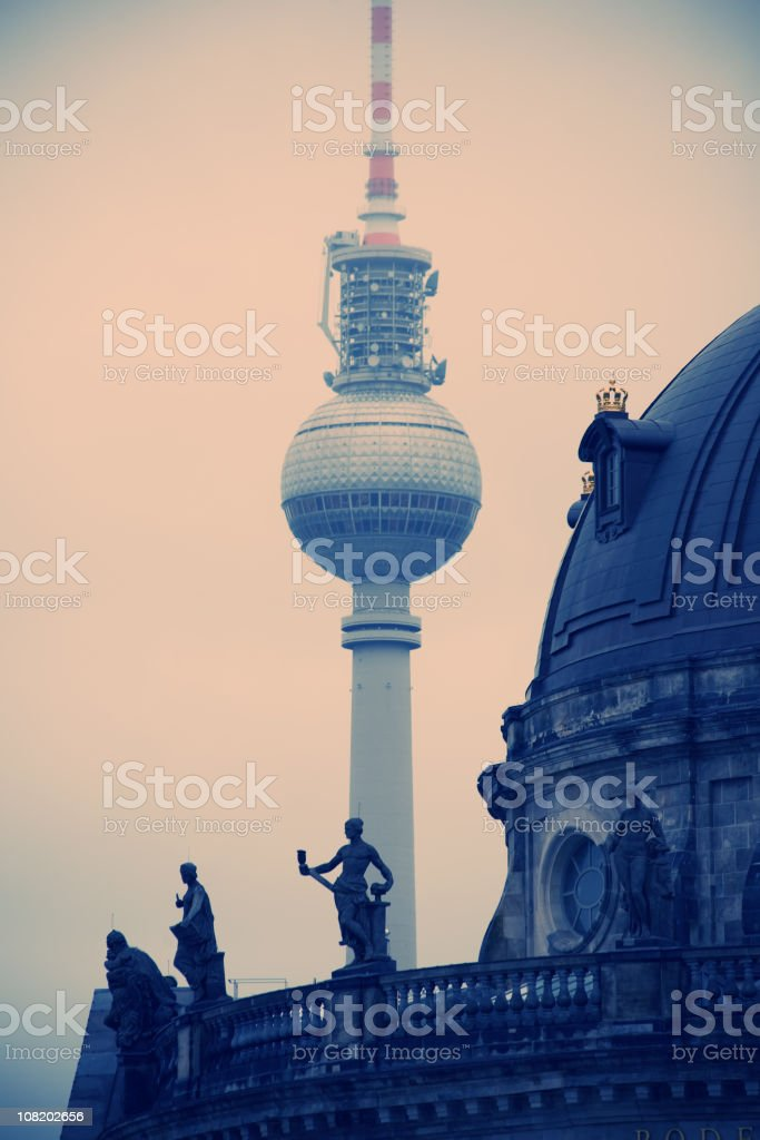 old Berlin royalty-free stock photo
