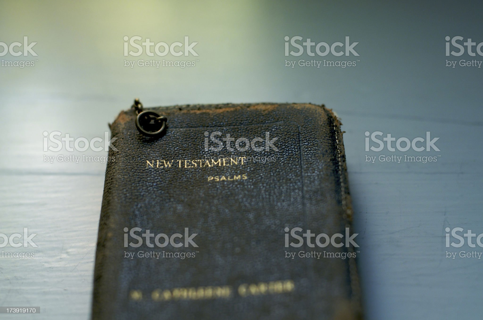 Old BIble royalty-free stock photo