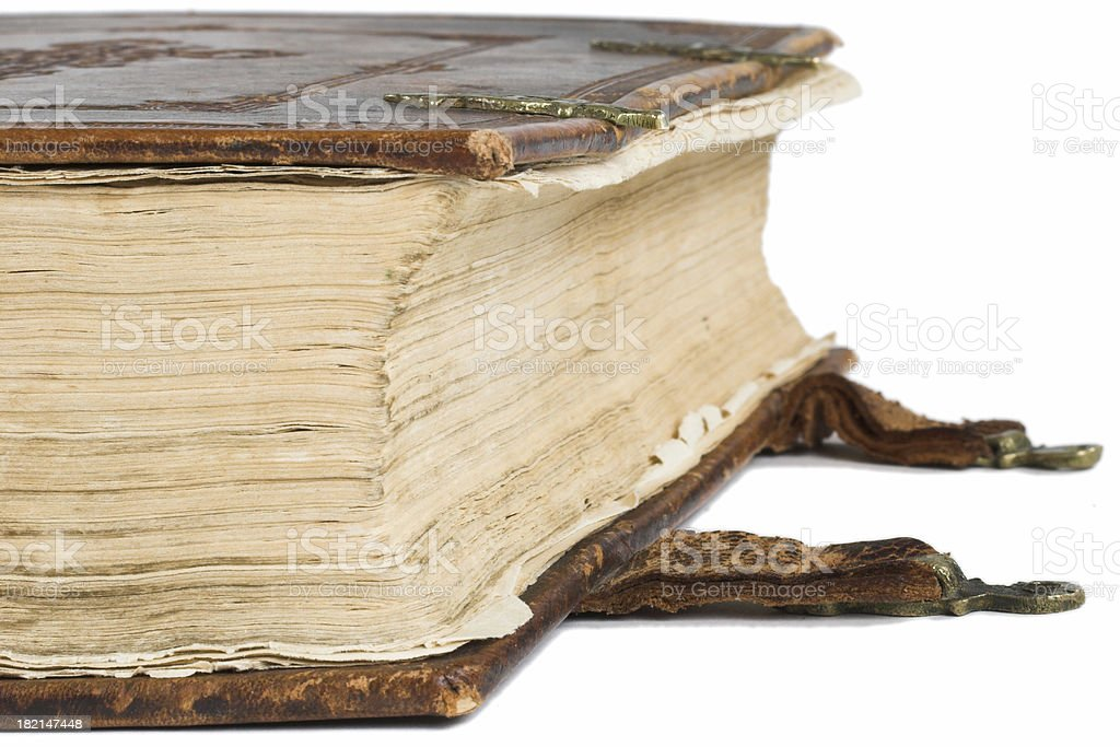 Old bible stock photo