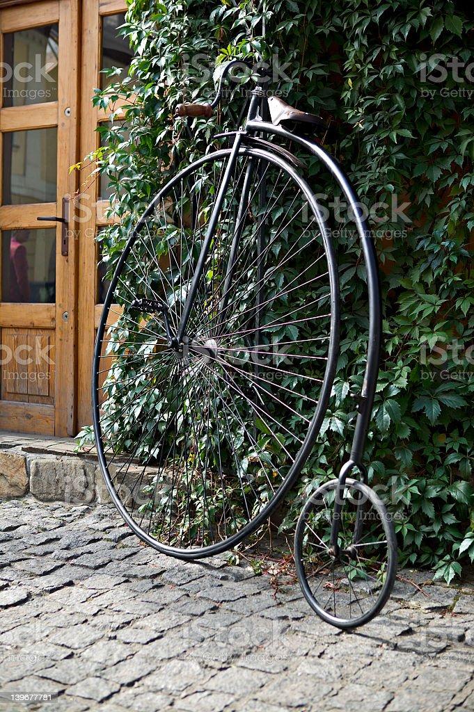 old bike stock photo