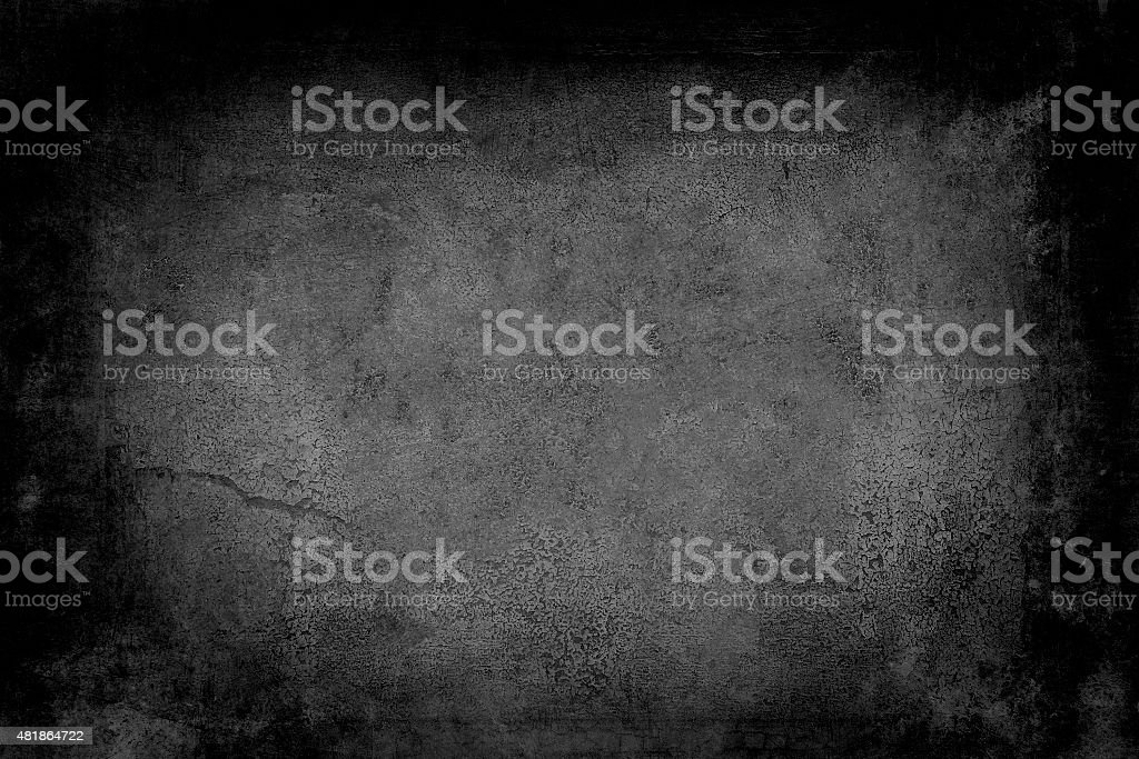 old black wall stock photo