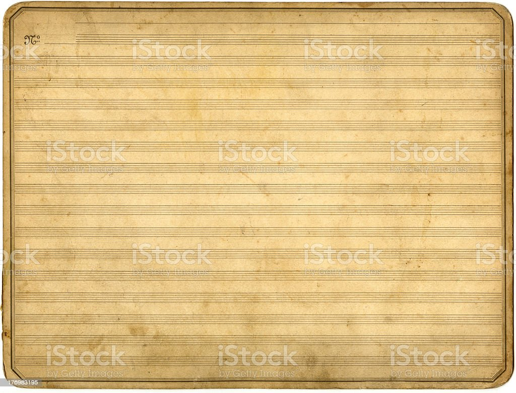 Old blank partition royalty-free stock photo