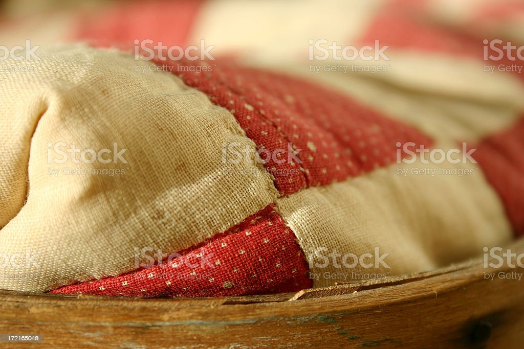 old blanket detail royalty-free stock photo