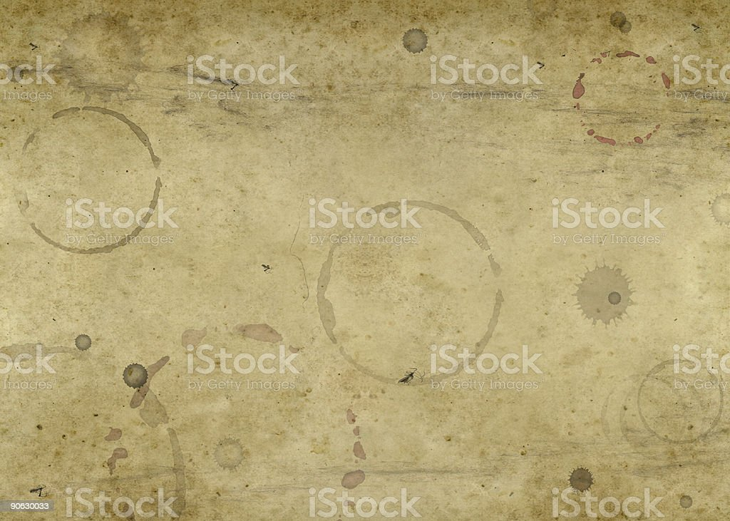 old blotched paper background stock photo