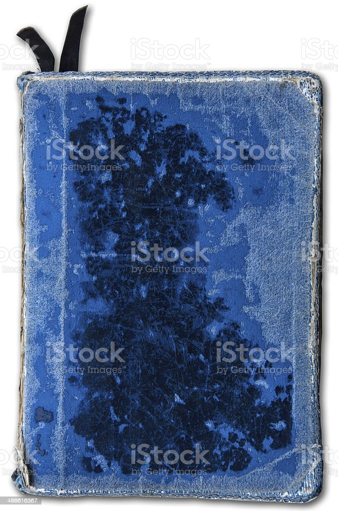 old, Blue, Cover, Book, Bible, royalty-free stock photo