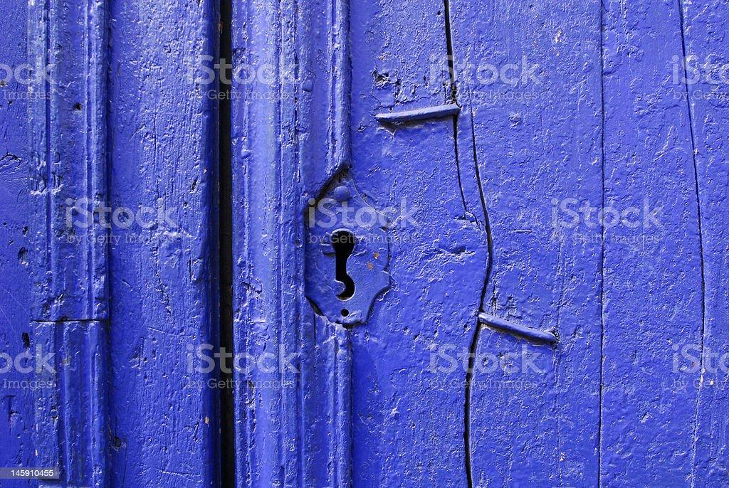 old blue ouverture goutte d'eau photo libre de droits