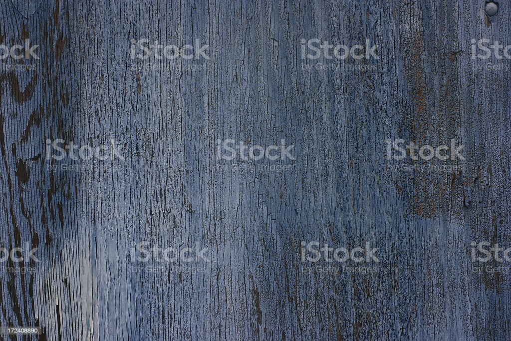 Old Blue Painted Plywood texture stock photo