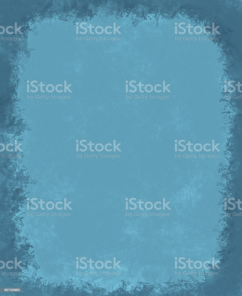 Old Blue Paper (XXL) royalty-free stock photo