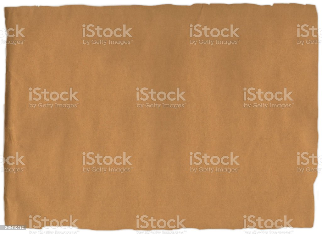 Old blue paper rip stock photo