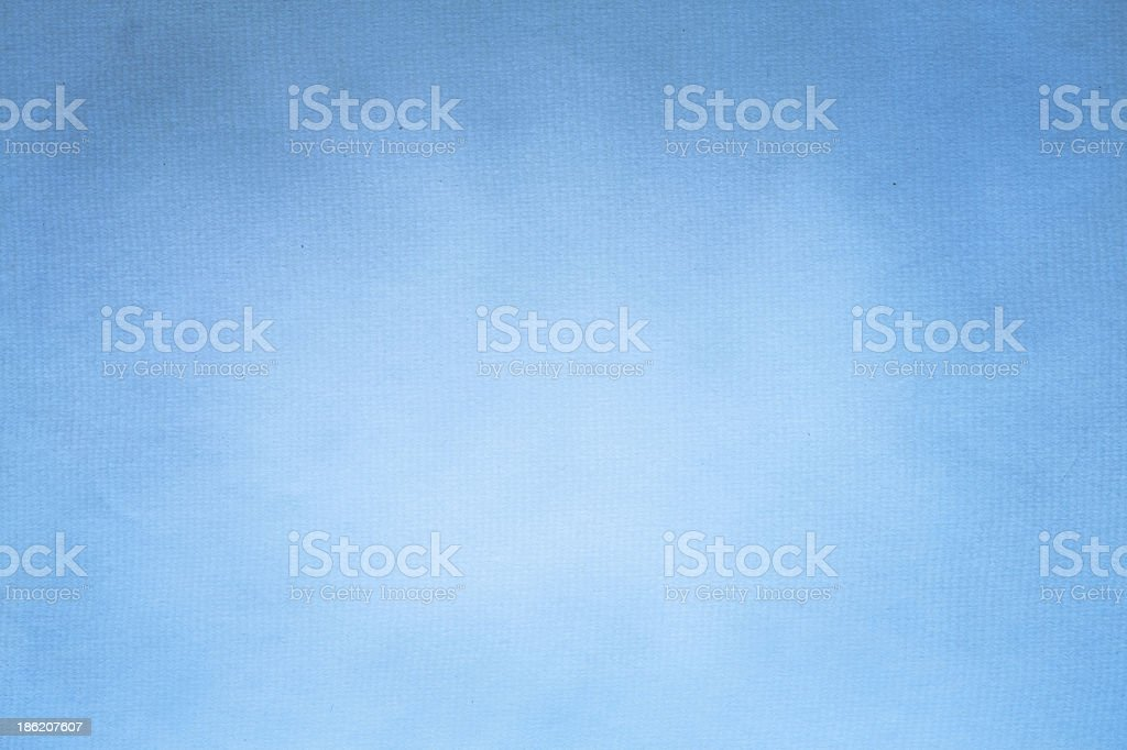 Old Blue Paper Texture Background Horizontal) stock photo