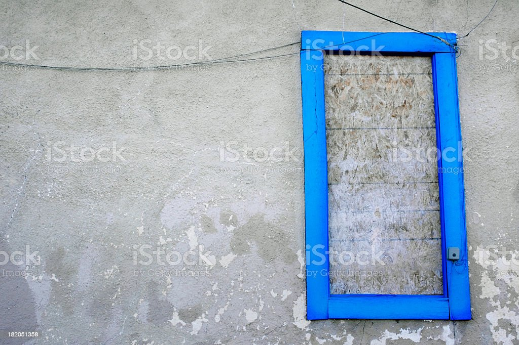 old blue royalty-free stock photo