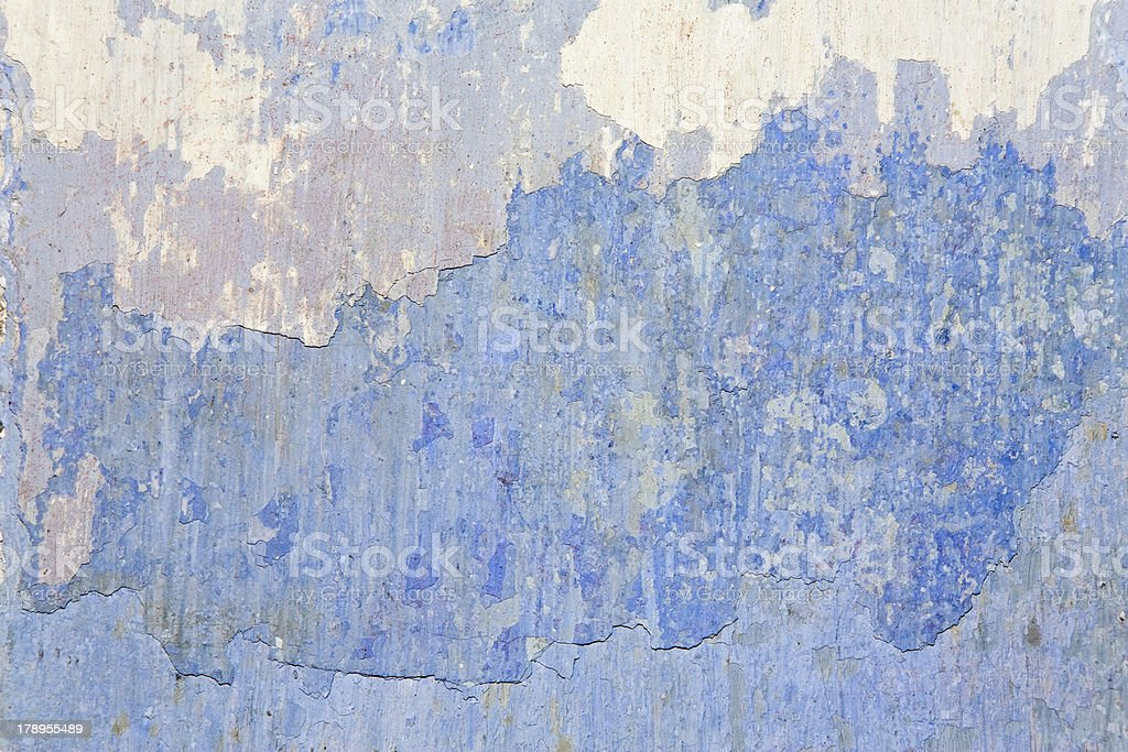 old blue wall royalty-free stock photo