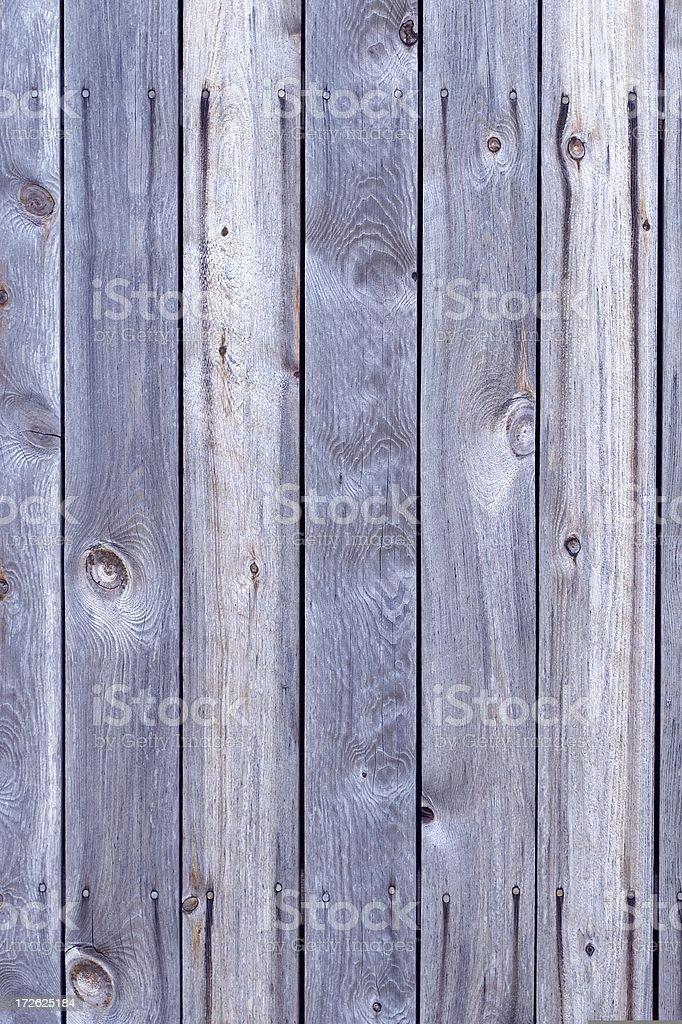 Old blue weathered planks stock photo