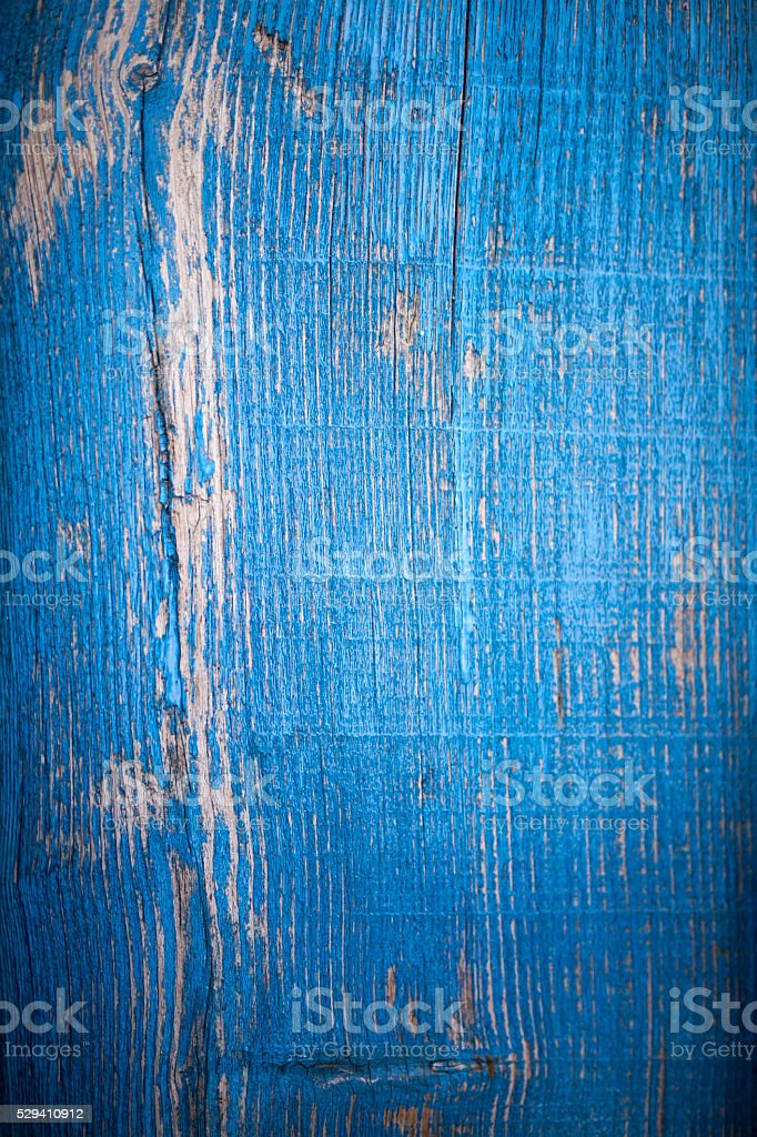 Old Blue Wood stock photo