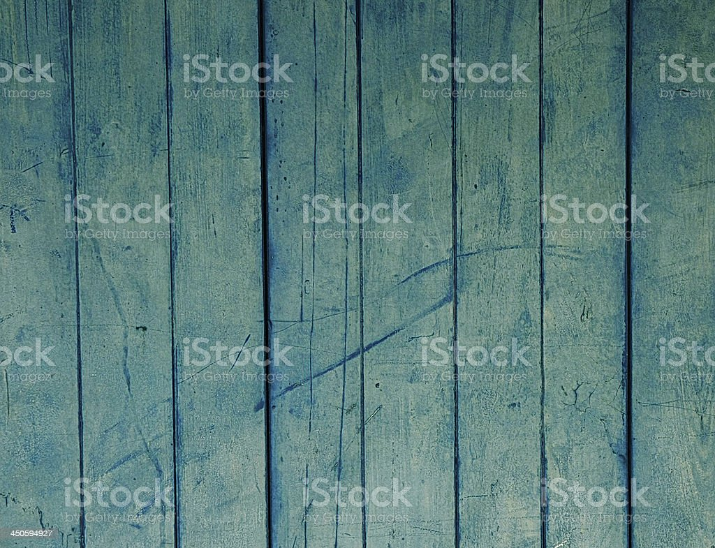 old blue wood plank wall royalty-free stock photo